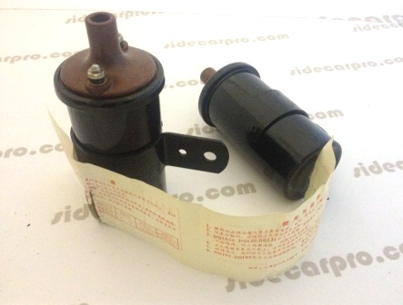 cj750 6v m72 ignition coil pair