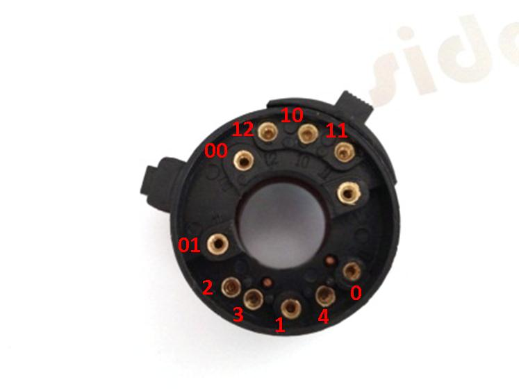 Jk719 Combination Horn And Headlight Switch For Cj750 K750 M72 Ural