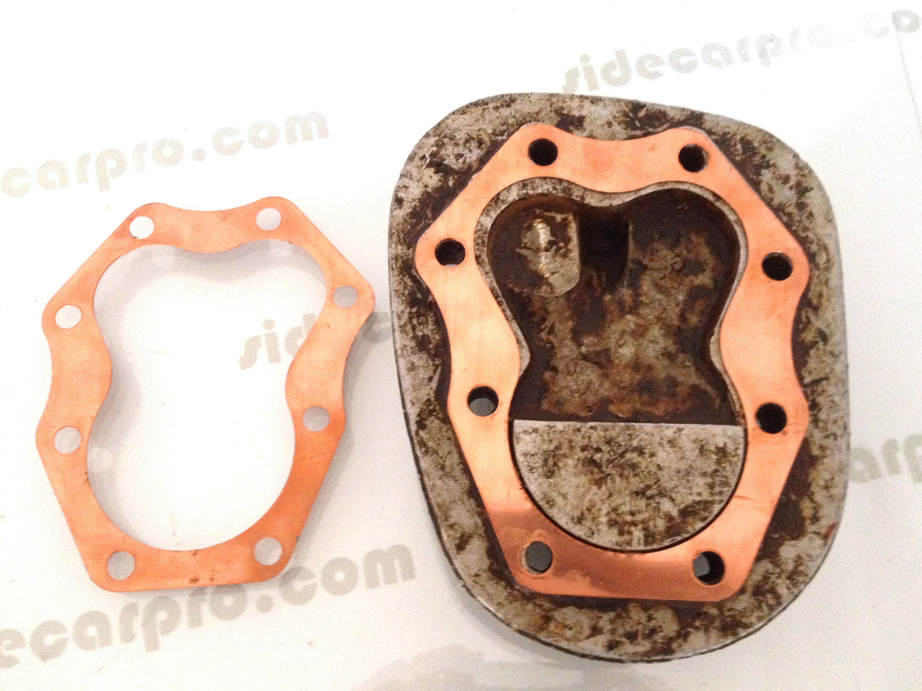 how to make a copper cylinder head gasket