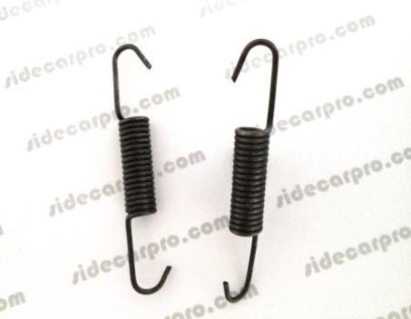 cj750 parts brake shoe drum pad springs pair m72