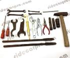 toolkit tool kit CJ sidecar also suit Ural CJ750 parts