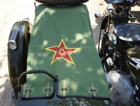 sidecar cover PLA Chinese army CJ750 parts