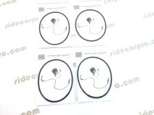 cj750 speedo speedometer rubber sealing gasket package