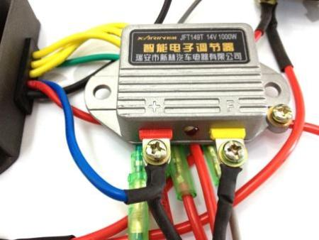 cj750 parts 12v hq upgrade wiring and electrical assembly kit rh sidecarpro com 12v power wiring 12V Electrical Wiring Diagrams