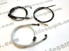 chang jiang750 parts cables and brake fluid hose disc brake assembly