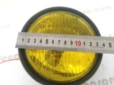 12V NOS fog light spotlight 150mm measure