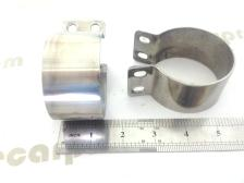 s/steel polished ignition coul clamp 6v 12v k750 chang jiang750