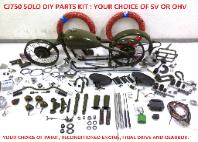 solo bike parts DIY kit cj750