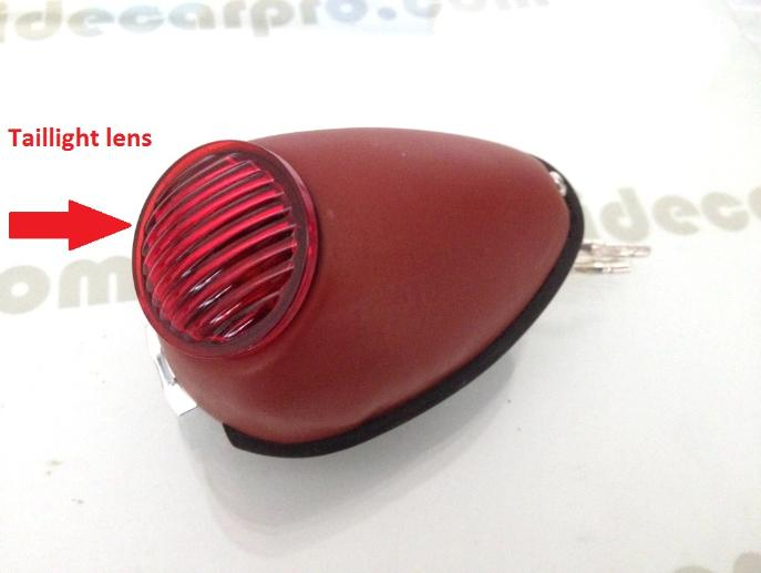 taillight lens bmw r71 ural m72 cj750 r71