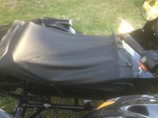 sidecar cover m72 leather black ural dnepr