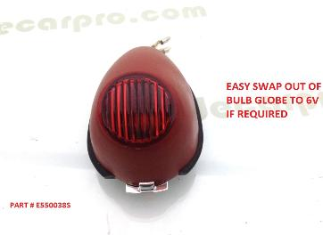 r71 k750 m1 m72 style rear sidecar lamp assembly